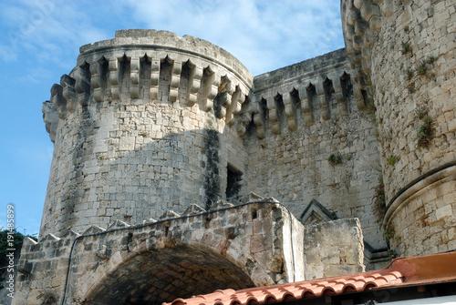 Rhodes, Grêce, Palais des Grands Maîtres