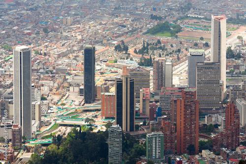 Spoed Foto op Canvas Zuid-Amerika land International Center of Bogota, Colombia, South America