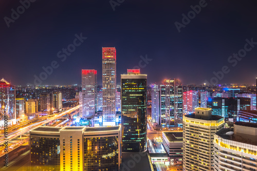 Seoul panoramic cityscape in beijing