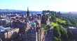 Edinburgh Scotland aerial