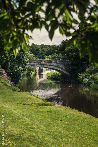 Foto  glasgow, pollok country park, country house