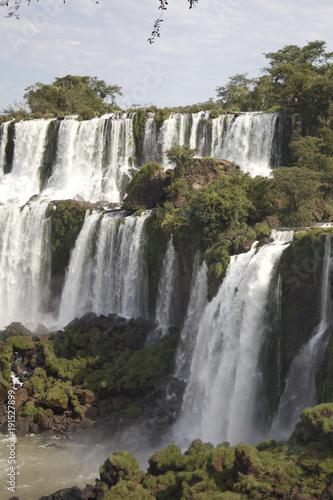 Poster Afrique du Sud 【世界三大瀑布】イグアスの滝