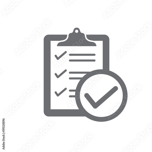 Photo  In compliance - icon set that shows company passed inspection