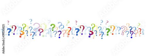 punti interrogativi, interrogativo, dubbi, sfondo