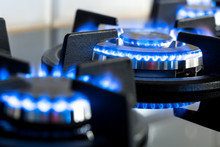 Modern Stove, Gas Cooker In Th...