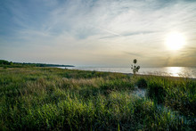Headlands Park On Lake Erie In Northeast Ohio Is A Great Place To Relax And Watch The Sunset.