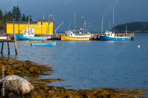 Photo  Fishing Community in Nova Scotia