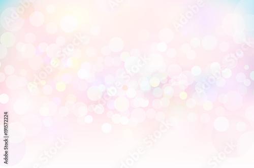 Fotomural ファンタジーピンク春の輝き背景素材