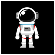 Vector Astronaut, Space Suit I...