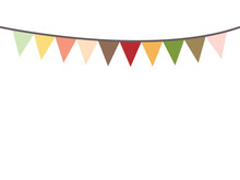 Colored Bunting Party Decorati...