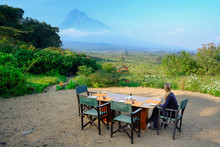 Breakfast At Luxury Camp Overl...