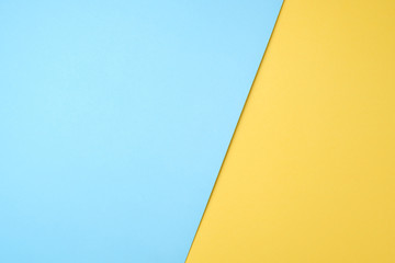 blue and yellow pastel paper color for background