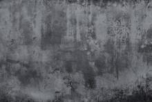 Dark Grunge Concrete Texture W...