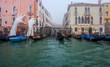 Venezia canal grande in the morning mist Travel Italy