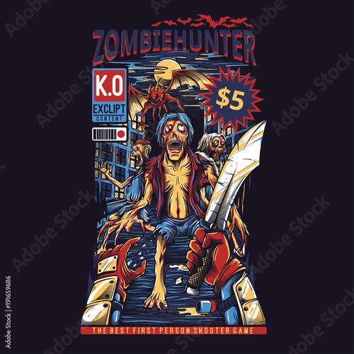 Платно Zombie Hunter