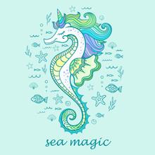 Marine Magic. Seahorse, Unicor...