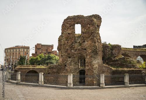 The ruins wall near Porta Galliera in Bologna Tapéta, Fotótapéta