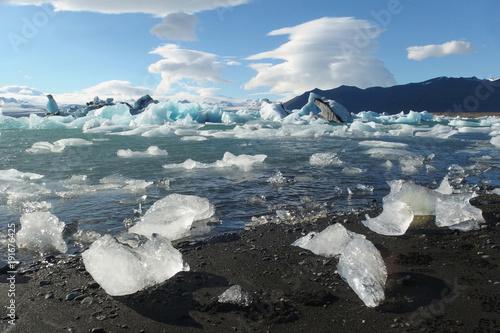 Islandia - lodowa laguna Jökulsárlón