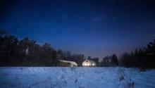 Calm Night In Polish Countrysi...