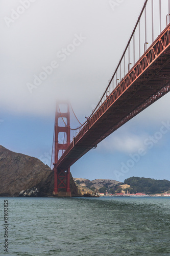 Tuinposter San Francisco Puente Golden Gate