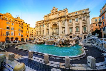 Fototapeta The Trevi Fountain, Rome, Italy