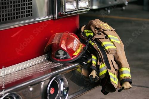 Fotografie, Obraz Habit de protection de pompier