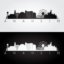 Anaheim Usa Skyline And Landma...