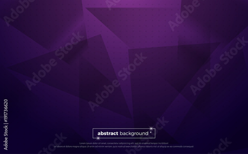 Photo  purple polygonal abstract background