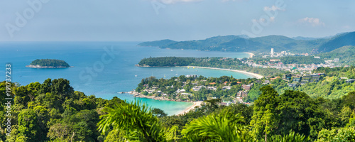 Canvastavla Patong Beach, Karon Beach and Kata Beach