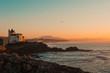 Viasta de la costa de Biarritz, Francia
