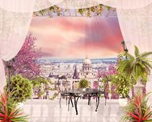 Digital Fresco With Modern View