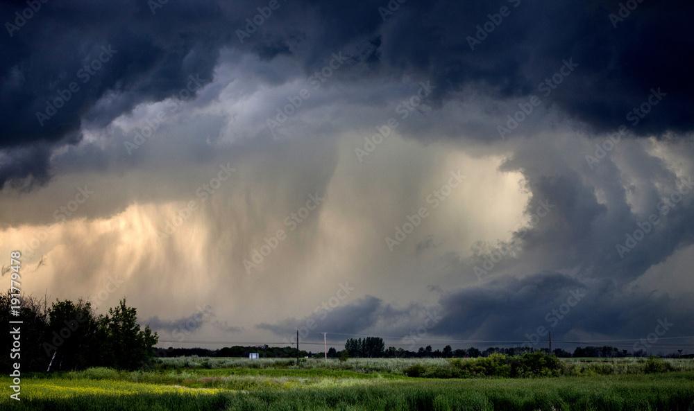 Fototapety, obrazy: Tornado Warned Storm