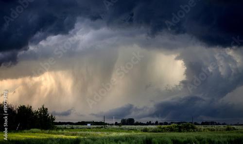 Fotografia, Obraz  Tornado Warned Storm