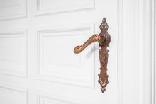 Beautiful Old Door Handle - Or...