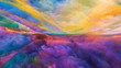 canvas print picture - Inner Life of Abstract Landscape