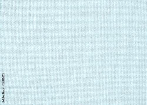 Obraz na plátně  Canvas burlap natural fabric pattern background for painting in pastel teal blue