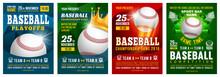 Baseball Poster Set