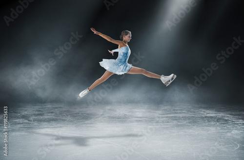 Fotomural figure skating