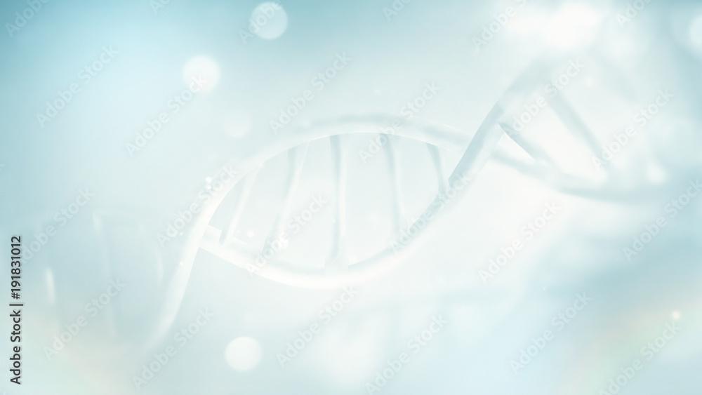 Fototapeta clear DNA strand