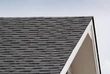 Grey And Black Roof Shingles O...