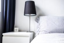 White Gray Bedroom Design Idea...