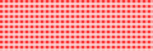 Horizontal Elegant Square Red Checked Pattern For Background And Design,vector Illustration