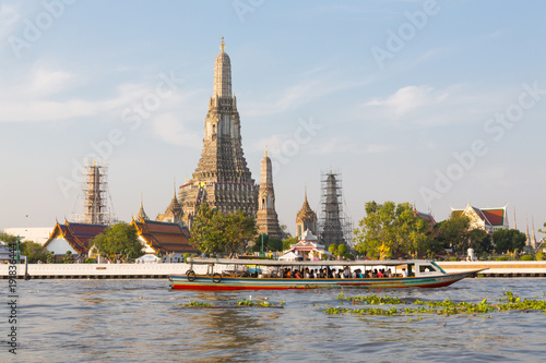 Foto op Canvas Bangkok Wat Arun Temple