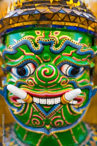 Foto op Aluminium Imagination Guardian Demon at Wat Arun Temple