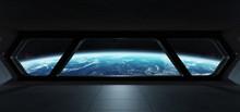Spaceship Futuristic Interior ...