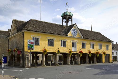 Photographie  The historic Market Hall, Tetbury, Cotswolds, Gloucestershire, UK
