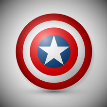 Shield With A Star, Superhero ...