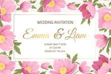 Spring Wedding Event Invitatio...