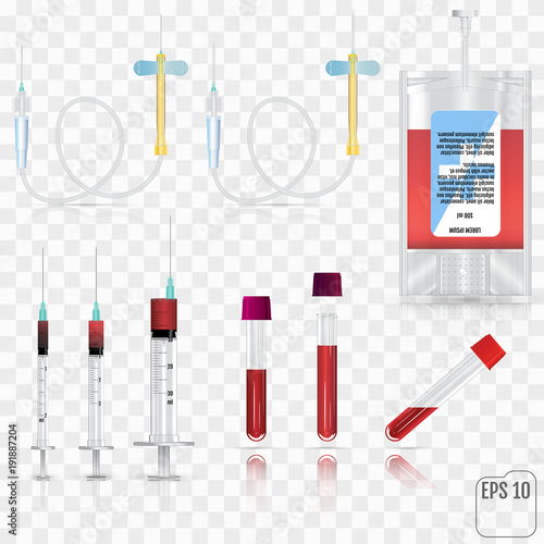 Fotografie, Obraz  Realistic medical supplies