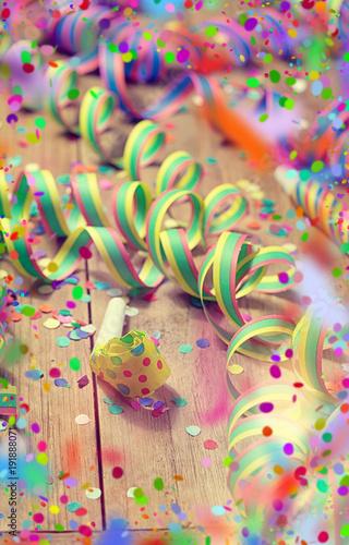 Fototapeta Party Hintergrund silvester obraz na płótnie
